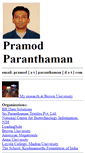 Mobile Preview of pramod.net